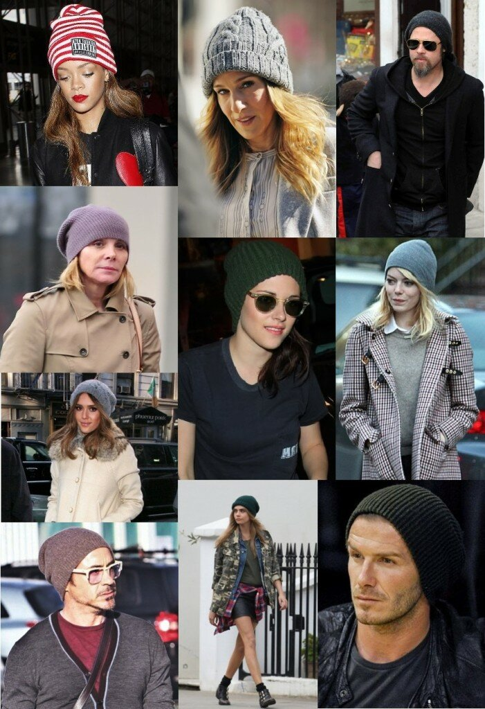 Hollywood stars loves beany
